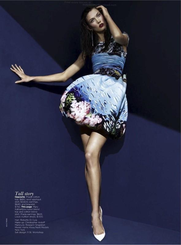 Съёмка: Карли Клосс для австралийского Vogue. Изображение № 8.