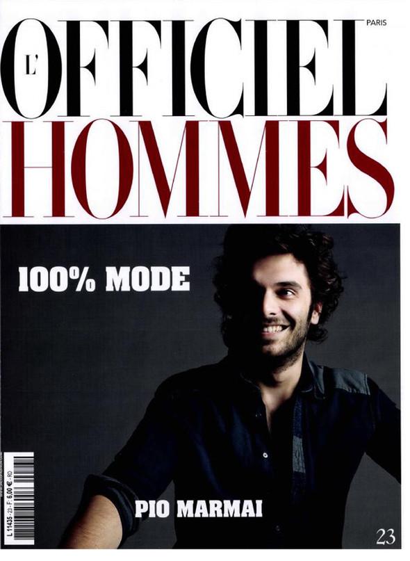 Изображение 1. Обложки: AnOther Man, GQ Style, Vogue Hommes и другие.. Изображение № 4.