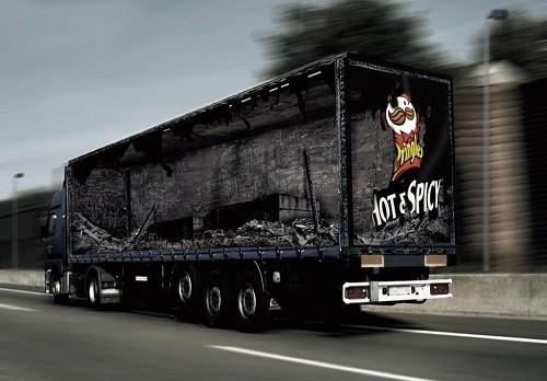 Потрясающая реклама на грузовиках. Изображение № 13.