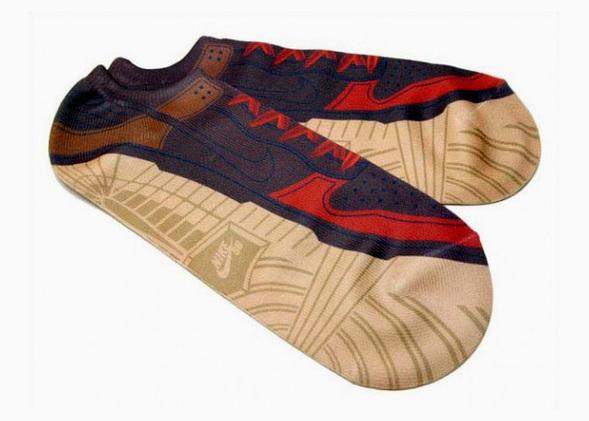 Носки-кроссовки отNike. Изображение № 3.