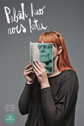Изображение 1. Книжные обложки вместо лиц.. Изображение № 1.