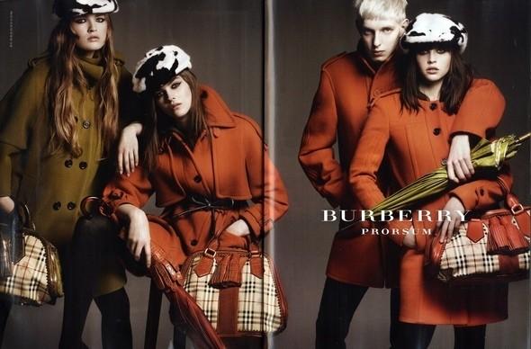 Изображение 1. Превью кампаний: Burberry, Marc Jacobs и Mulberry.. Изображение № 1.