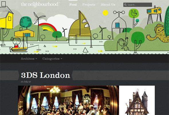 Подборка невероятных сайтов веб-дизайн студий. Изображение № 17.