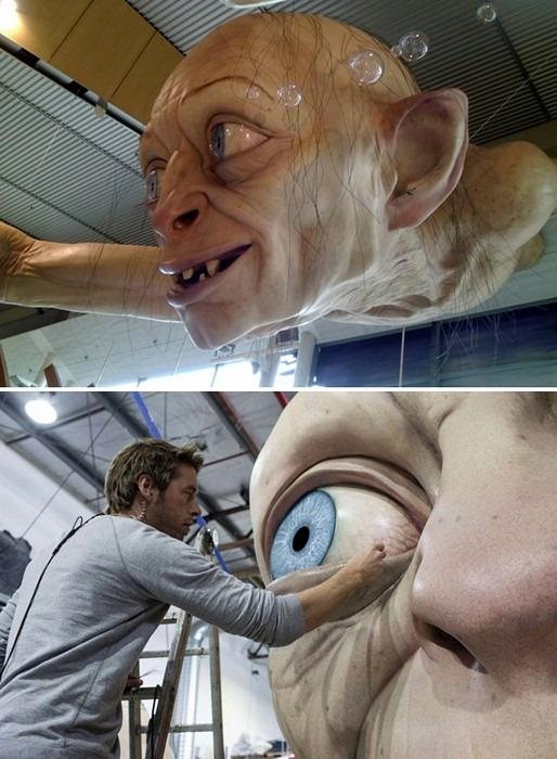 В аэропорту Веллингтона построили гигантскую скульптуру Горлума. Изображение № 2.