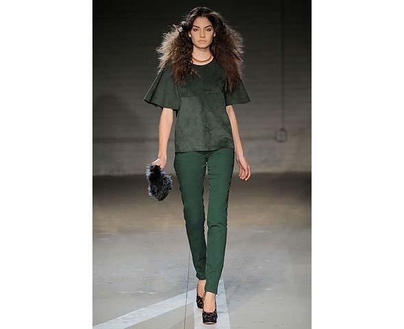 Неделя моды в Нью-Йорке: первые показы. Изображение № 61.