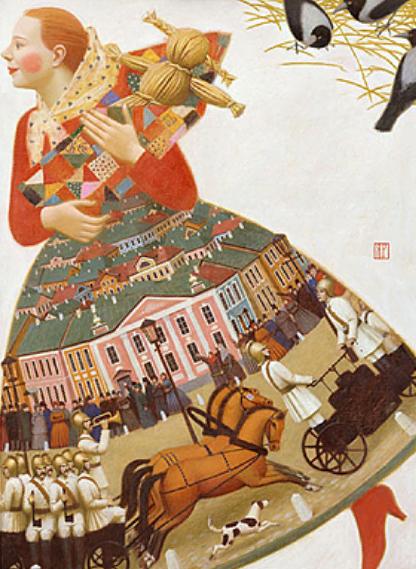Русская живопись нашего времени. Изображение № 10.