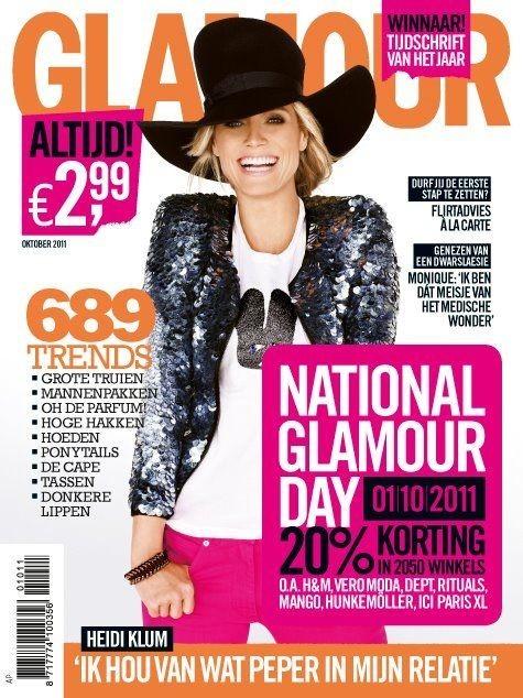 Обложки октября: Elle, Marie Claire, Interview и другие. Изображение № 10.