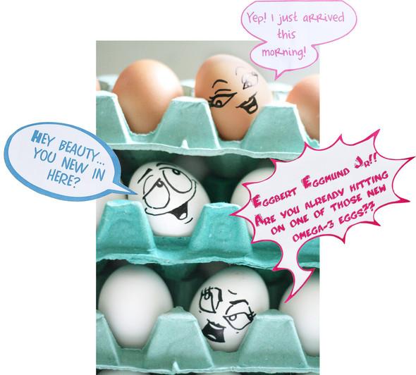 Удивительная жизнь яиц. Изображение № 15.