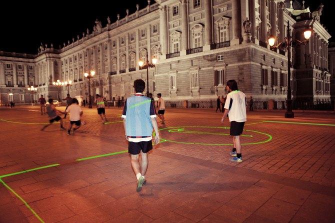 Nike представила лазерную разметку футбольного поля. Изображение № 2.