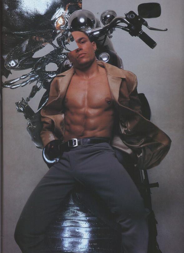 Архивная съёмка: Ник Найт для Arena Homme Plus, 1996. Изображение № 4.