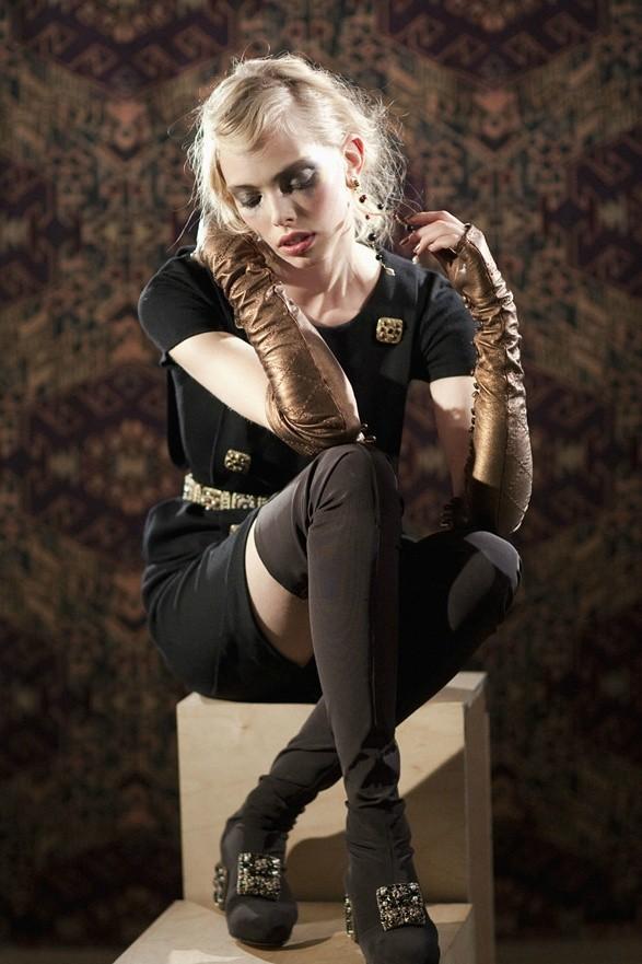 Съёмка: Таня Дягилева в Chanel для Grey. Изображение № 4.