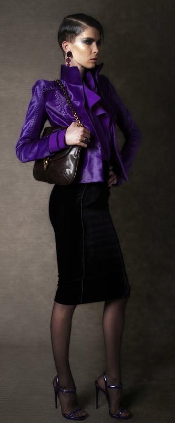 Изображение 21. Лукбук: Tom Ford FW 2011 Women's.. Изображение № 21.