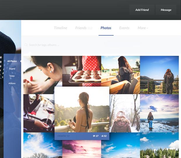 Редизайн дня: полностью новая веб-версия Facebook. Изображение № 24.