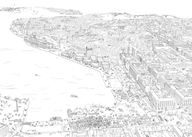 Показан проект Музея Гуггенхайма в Хельсинки . Изображение № 11.
