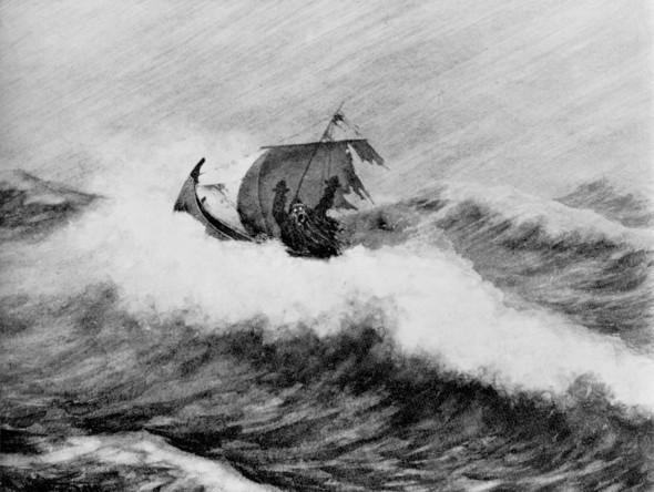 Теодор Киттельсен «Ненагруженный ужас». Изображение № 10.