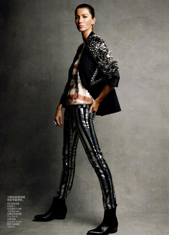 Изображение 54. Съемки: Harper's Bazaar, Metal, V и Vogue.. Изображение № 49.