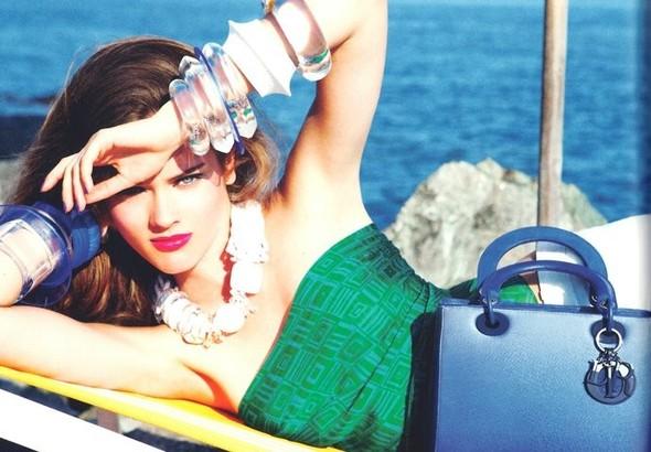 Кампания: Моника Ягачак и Эллен фон Унверт для Dior Cruise 2012. Изображение № 25.