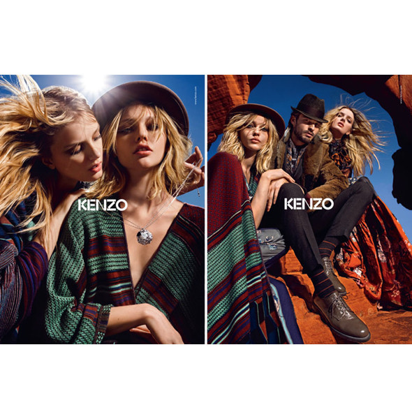 3 новые рекламные кампании: Burberry, Etam и Kenzo. Изображение № 17.