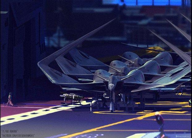 Дизайнер представил биомиметические самолёты. Изображение № 11.