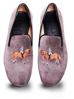 Mario Molinaro - обувь с вышивкой. Изображение № 2.