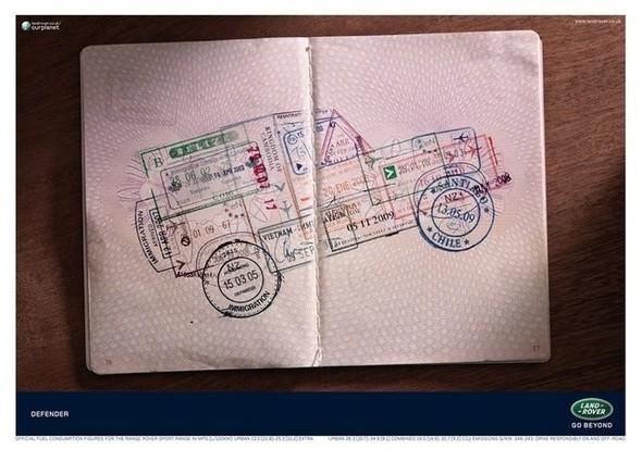 Рисунки из визовых штампов. Изображение № 7.