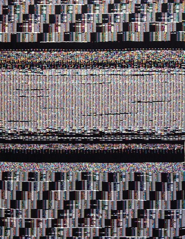 Американец соткал гобелены из компьютерных данных. Изображение № 2.