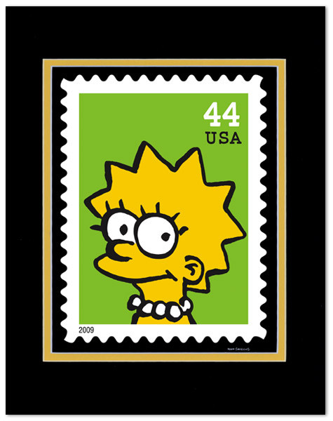 USPostal Service xMatt Groening. Изображение № 6.