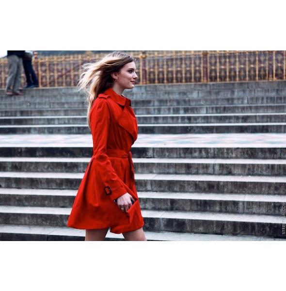 Изображение 56. На полях: 10 тенденций уличного стиля с прошедших недель моды.. Изображение № 56.