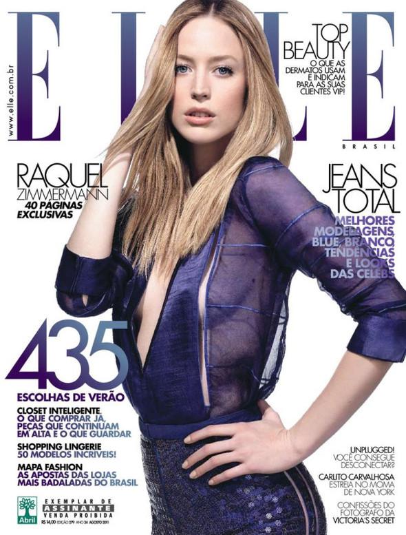 Обложки: Harper's Bazaar, Elle и Marie Claire. Изображение № 2.