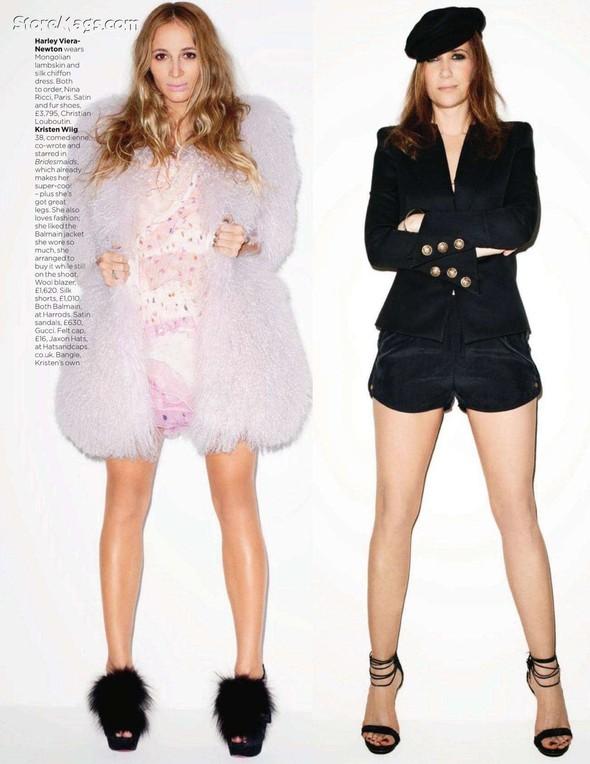 Съёмка: Терри Ричардсон для британского Vogue. Изображение № 10.