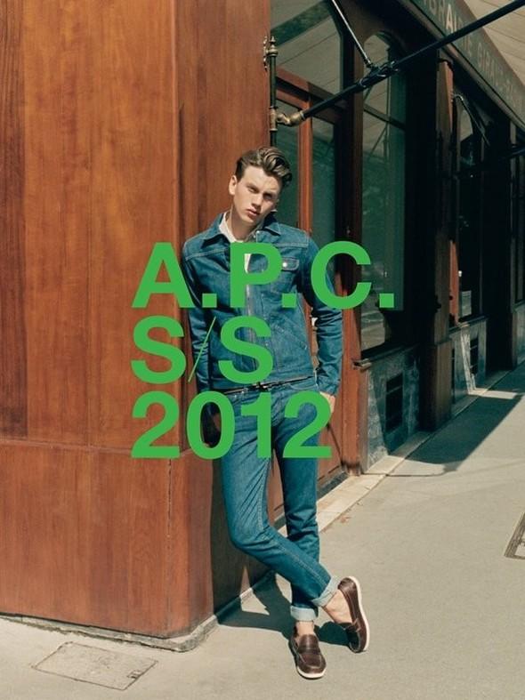Превью кампании: A.P.C. SS 2012. Изображение № 1.