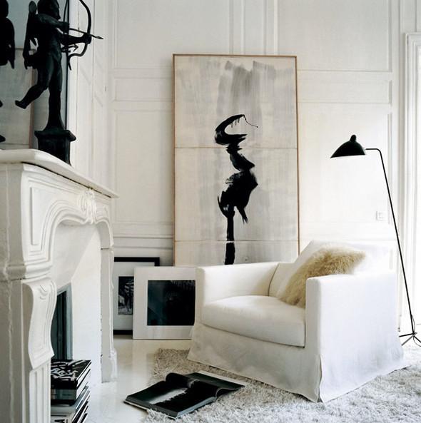 Black&white - 33 красивейших интерьера черно-белой гаммы. Изображение № 30.