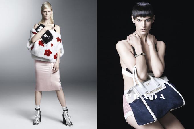 Вышла кампания Prada с Пивоваровой и Зиммерманн. Изображение № 5.