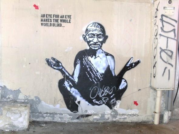 Граффити от легенды стрит-арта Jef Aerosol. Изображение № 24.