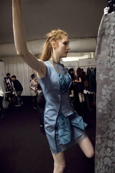 Бэкстейдж Лондонской недели моды. Изображение № 17.