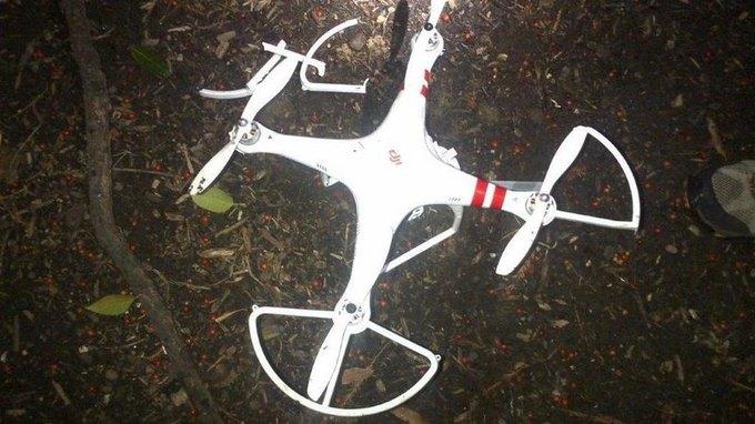 У Белого дома разбился дрон. Изображение № 1.