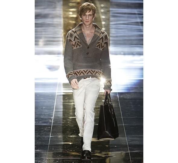 Трансляция показа новой мужской коллекции Gucci. Изображение № 5.