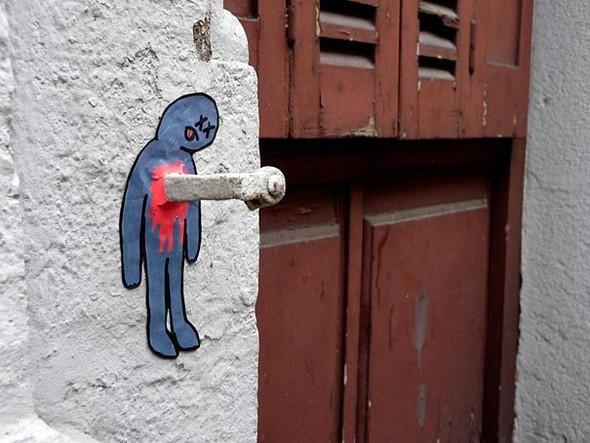 Большая коллекция уличного искусства. Изображение № 55.
