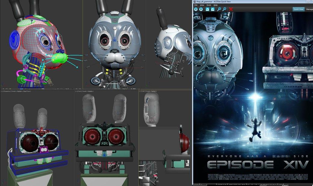 Как проходит рабочий день робототехника и 3D-художника. Изображение № 10.