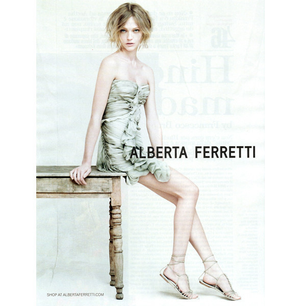 Изображение 1. Превью кампаний: Alberta Ferretti, Celine, Michael Kors и другие.. Изображение № 1.