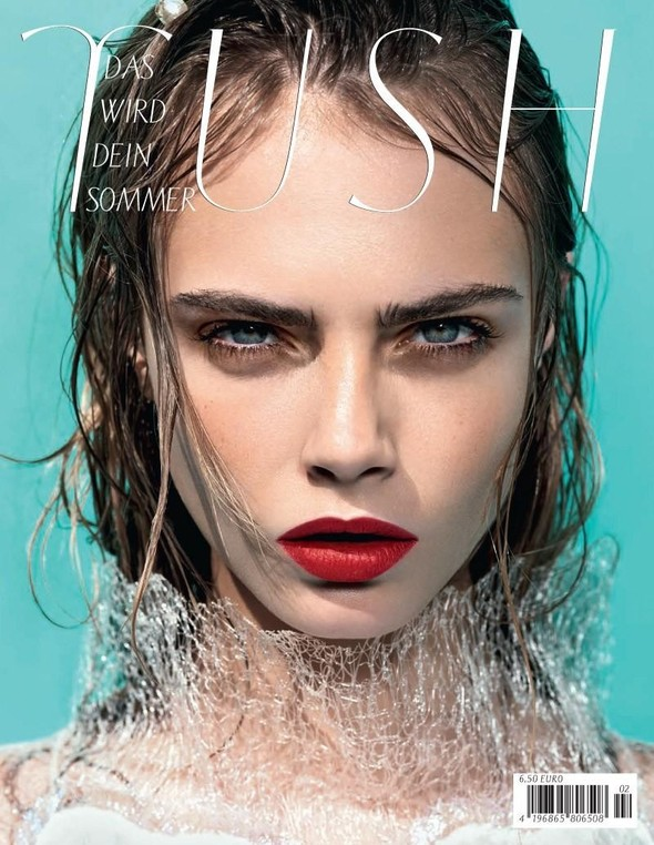 Обложки: Dazed & Confused, Harper's Bazaar, Tush и другие. Изображение № 4.
