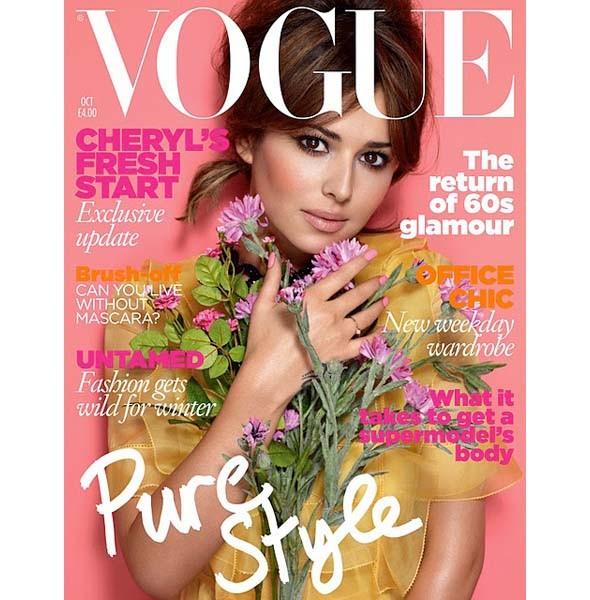 5 обложек октябрьских номеров Vogue: Америка, Британия, Китай и другие. Изображение № 2.