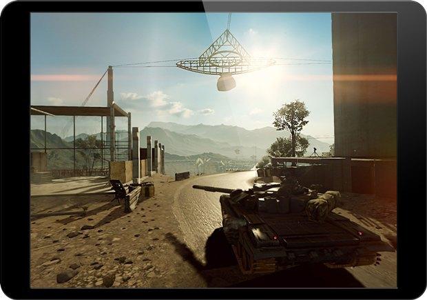 Разработчики смогли перенести Battlefield 4 на iPad. Изображение № 1.