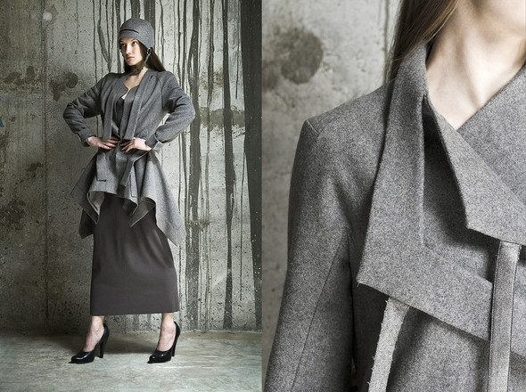DOMANOFF fall-winter 2012-2013 look-book. Изображение № 14.
