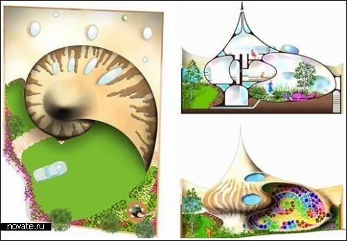 Биоорганическая архитектура: домракушка. Изображение № 2.