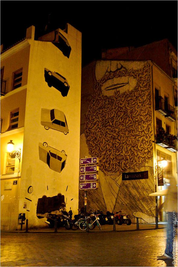 Стрит-арт и граффити Валенсии, Испания. Изображение № 1.