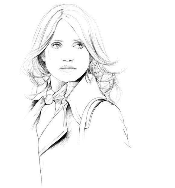 Изображение 20. Акварельные иллюстрации Caroline Andrieu.. Изображение № 20.