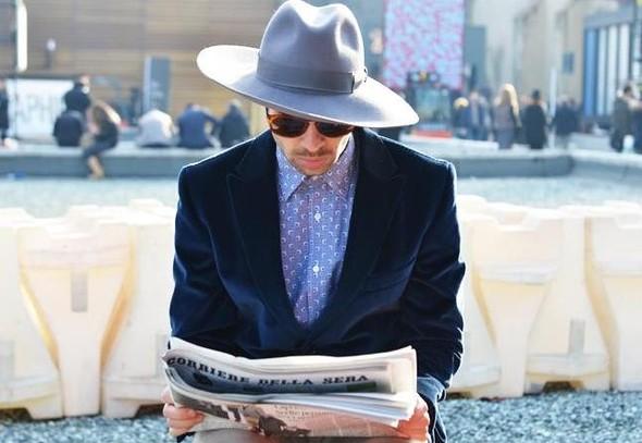 Головные уборы гостей Spring 2012 Couture. Изображение № 17.