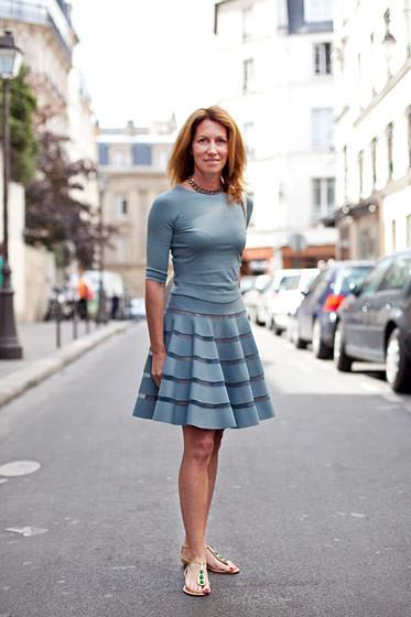 Уличный стиль на Неделе высокой моды в Париже. Изображение № 83.