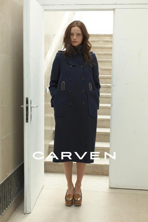 Кампания: Carven FW 2011. Изображение № 3.